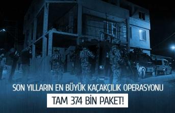 Son yılların en büyük operasyonu!
