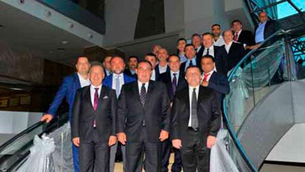 Kulüp Başkanları Demirören ile buluştu