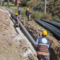 Ortaköy'ün su çilesi bitiyor