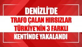 Denizli'de trafo çalan hırsızlar Türkiye'nin...