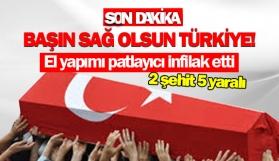 Başın sağ olsun Türkiye! El yapımı patlayıcı infilak etti!