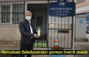Pamukkale Belediyesinden çevreye önemli destek