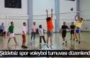 Şiddetsiz spor voleybol turnuvası düzenlendi