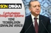 Cumhurbaşkanı Erdoğan, yeni tedbirlerin sinyalini verdi