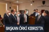 Pamukkale Belediye Başkanı Örki Kıbrıs'ta