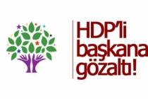 HDP'li başkana gözaltı!