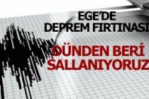 Ege'de deprem fırtınası