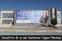 Denizli'nin ilk ve tek Alzheimer Yaşam Merkezi