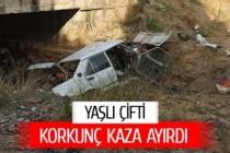 Korkunç kaza çifti evli çifti ayırdı