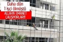 Merkez Bankası inşaatında skandal görüntüler