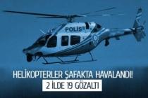 Helikopterler kuş uçurtmadı!