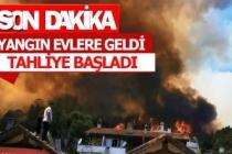 Yangın tehdidi bu kez Ege'de!