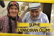 Yaşlı çiftin ölümünde sır perdesi!