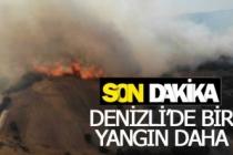 Denizli'de bir yangın daha çıktı!