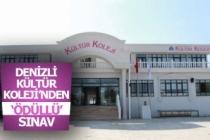 Denizli Kültür Koleji'nden ödüllü sınav
