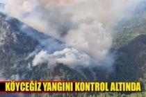 Köyceğiz yangını kontrol altına alındı
