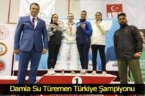 Büyükşehir'in altın kızı Türkiye'yi Dünya Şampiyonası'nda temsil edecek