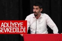 CHP Denizli Gençlik Kolları Başkanı adliyeye sevk edildi