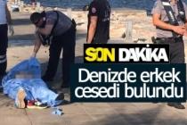 Denizde ceset bulundu!