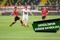 TFF 1. Lig: Denizlispor: 2 - Samsunspor: 3