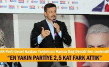 AK Parti Genel Başkan Yardımcısı Hamza Dağ Denizli'den seslendi!