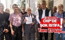CHP'de şok istifa!