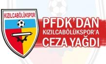 PFDK'dan Kızılcabölükspor'a ceza yağdı