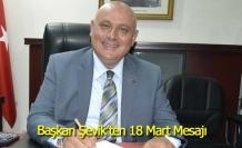 Buldan Belediye Başkanı Şevik'ten 18 Mart Mesajı