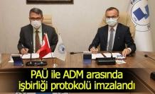 PAÜ ile ADM arasında işbirliği protokolü imzalandı