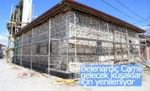 137 yıllık tarihi Belenardıç Camisi gelecek kuşaklar için yenileniyor