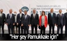 """Başkan Örki; """"Her şey Pamukkale için"""""""