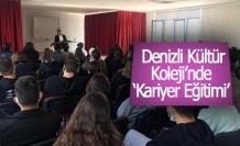 Kültür Koleji'nde 'Kariyer ve Girişimcilik' Semineri