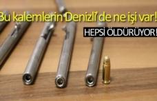 Bu kalemlerin Denizli'de ne işi var!