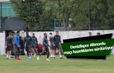 Denizlispor, Altınordu maçı hazırlıklarını sürdürüyor