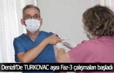 Denizli, TURKOVAC aşısı Faz-3 çalışmaları için 41 merkezden birisi oldu