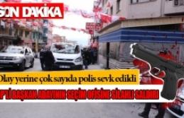CHP'li Belediye Başkan adayının seçim ofisine...