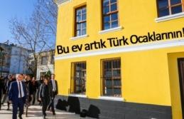 Bu ev artık Türk Ocaklarının!
