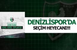 Denizlispor'da seçim heyecanı