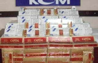 29 bin paket kaçak sigara ele geçirildi