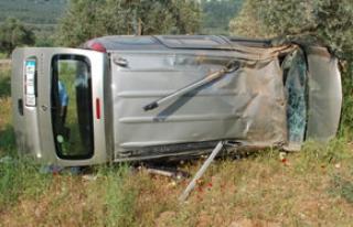 Yatağan'da kaza; 1 ölü, 1 yaralı