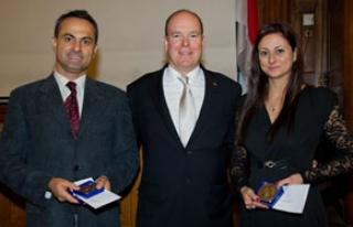 PAÜ'lü doçent, Monako prensinden ödül aldı
