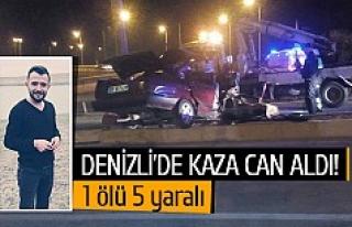 Denizli'de kaza can aldı!