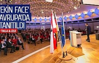 'Ekin Face' Avrupa'da tanıtıldı