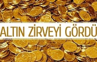 Çeyrek altın 249 lira oldu
