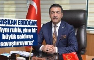 """Başkan Erdoğan: """"Aynı ruhla, yine bir büyük..."""