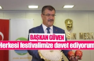 Başkan Güven: ''Herkesi festivalimize davet...