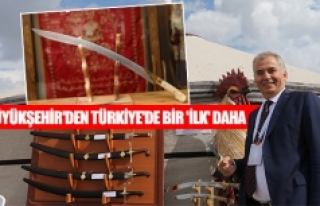 Büyükşehir'den Türkiye'de bir 'ilk'...
