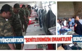 """Büyükşehir'den """"Şehitlerimizin Emanetleri""""..."""