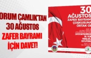 Forum Çamlık'tan 30 Ağustos Zafer Bayramı için...