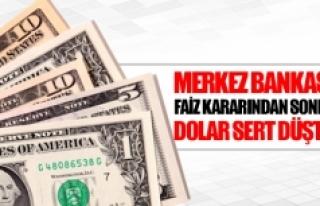 Merkez Bankası faiz kararından sonra dolar sert...